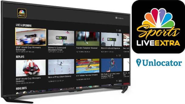 SmartDNS for watching NBC Live Sports Extra