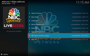 VPN for watching NBC Live Sports Extra