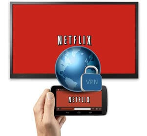unblock Netflix by VPN