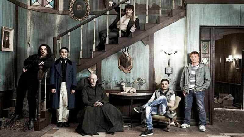 What We Do in the Shadows is about a group of vampires