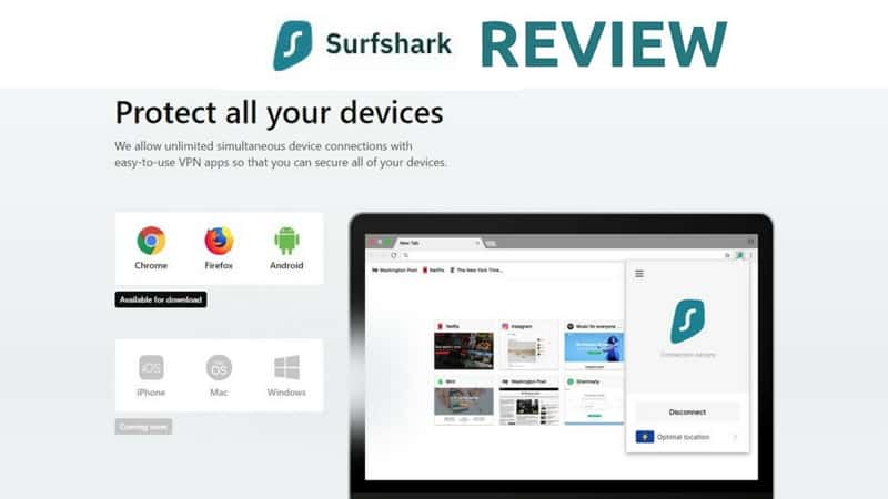Surfshark cheapest Australian VPN