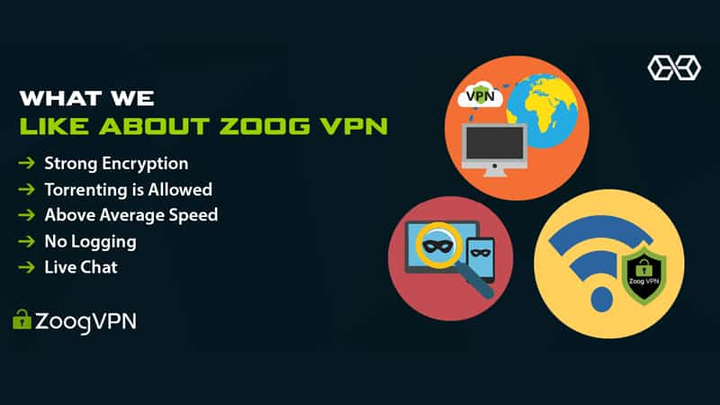 Zoog VPN Key Features and Security
