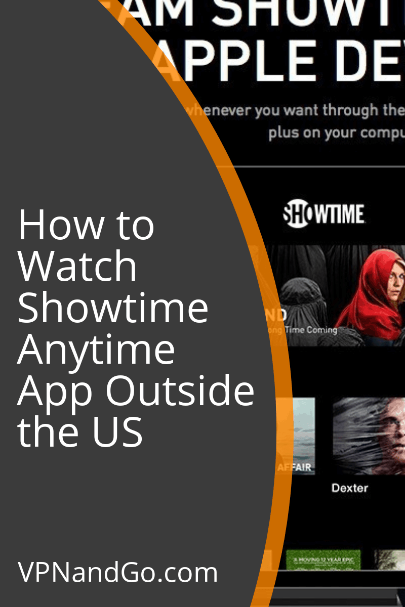 How to Watch Showtime Anytime App Outside the US