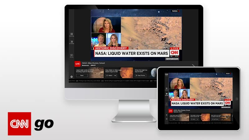 Streaming CNN Go Outside of the US
