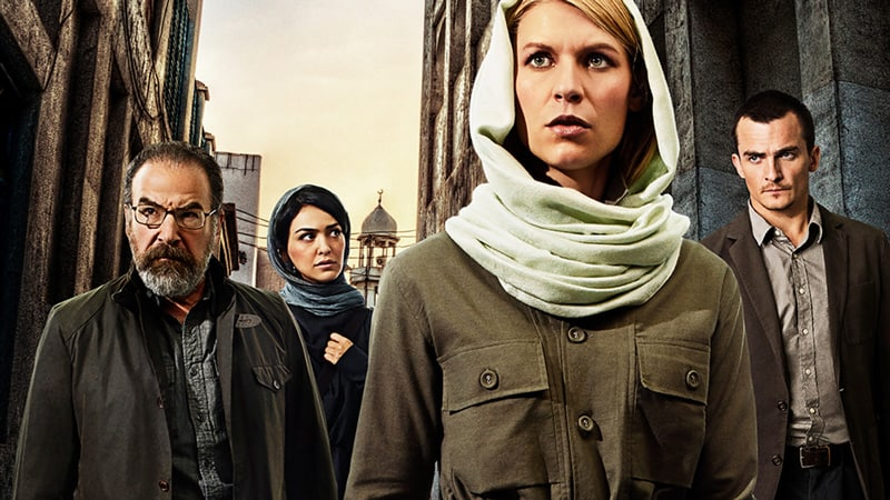 Watch Homeland on Netflix, Amazon Prime and Showtime