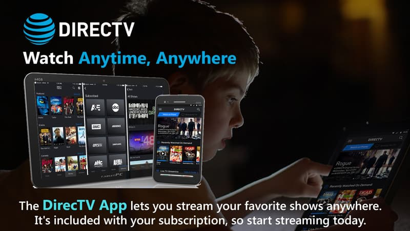 DirecTV Streaming platforms