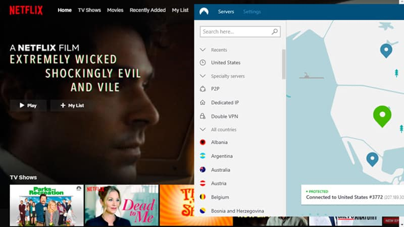 NordVPN for Mexican Netflix in America