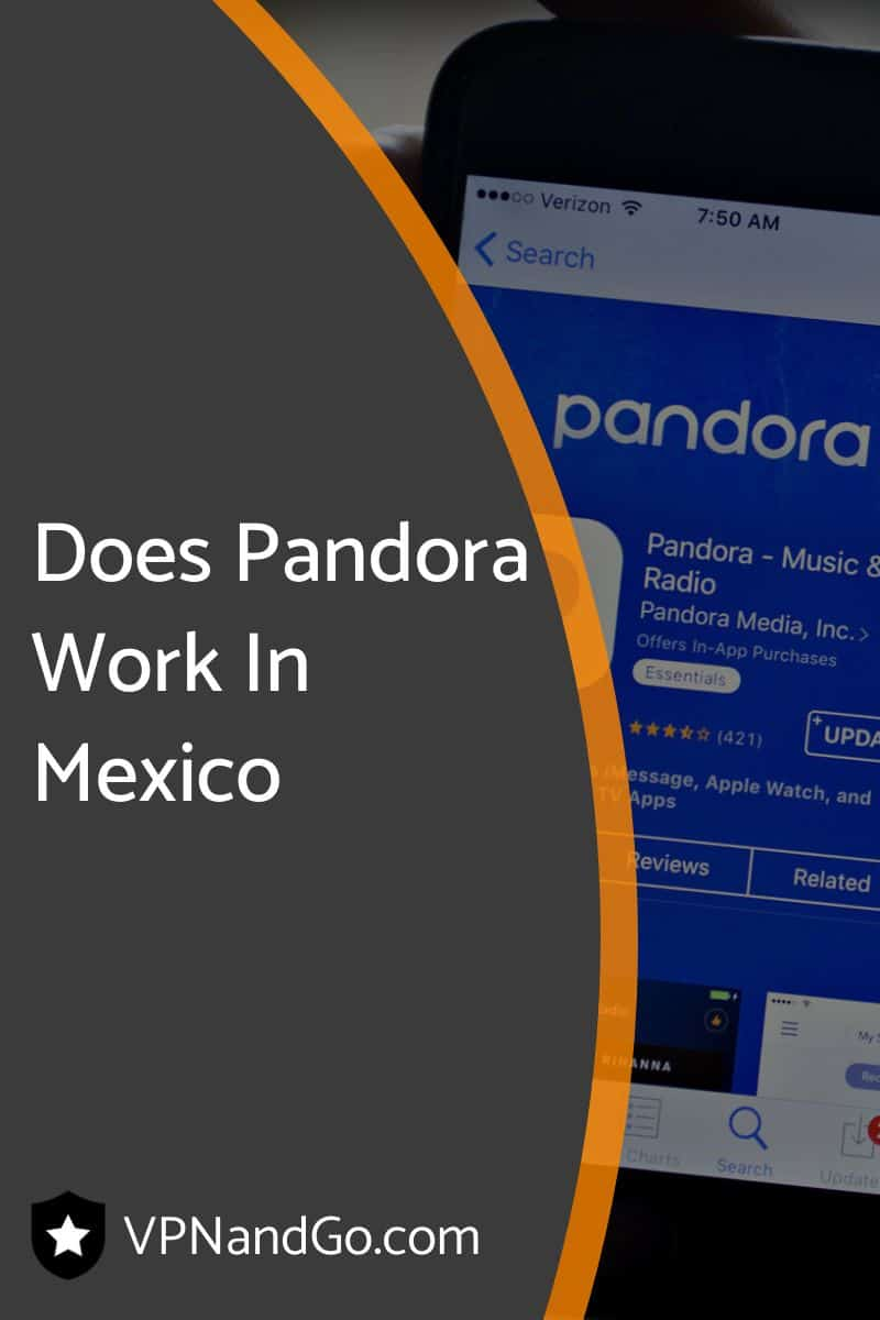 Does Pandora Work In Mexico