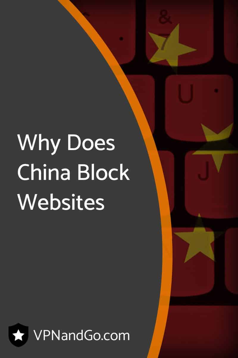 Why Does China Block Websites